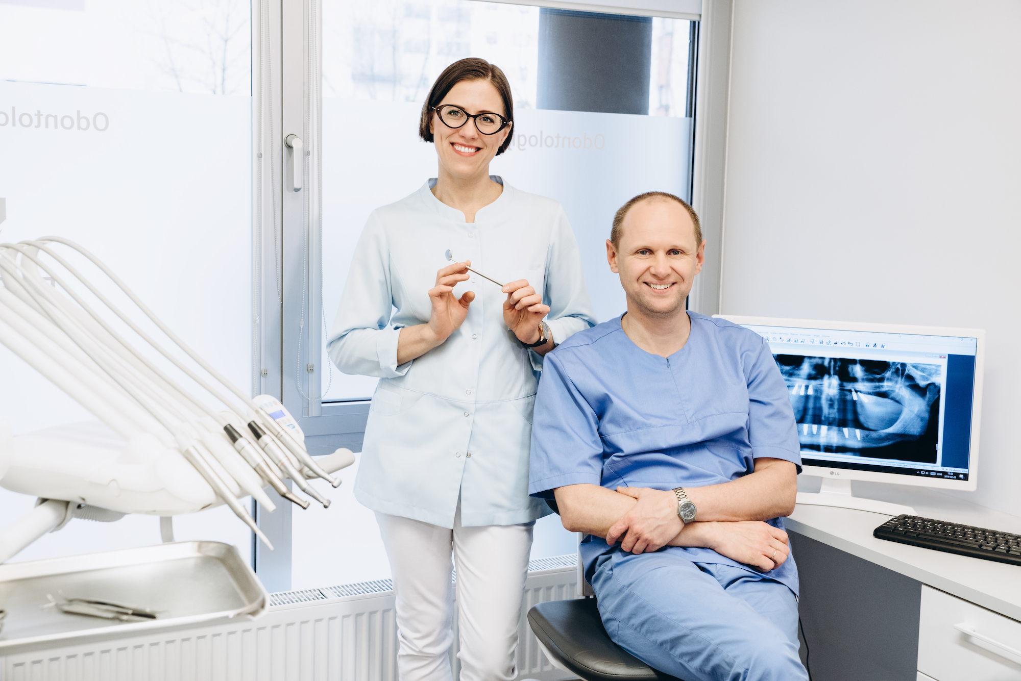 Odontologijos klinikos Fabrica dentis odontologai
